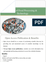 Journal of Food Processing & Technology