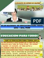 Exposicion PNEPT 2005-2015