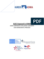 ALEC Exposed in Iowa