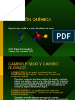 Unidad 6. Reacción Química