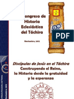 II Congreso de Historia Eclesiástica del Táchira