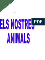 Els Nostres Animals (Fitxes)