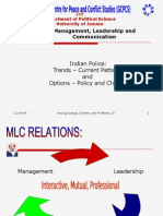 Indian Police Management Leadership Communication