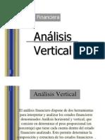 Evaluacion Financiera Analisis Vertical y Horizontal