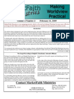 Worldview Made Practical - Issue 4-3