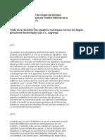 Joseph Louis Lagrange - Traité de la résolution des équiations numériques de tous les degrés