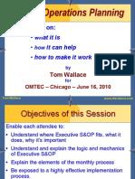 S&OP Wallace Presentation