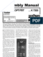 In-Circuit LOPT-FBT Tester Assembly Manual [English]