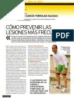 Prevención lesiones Running. Marca 2006.
