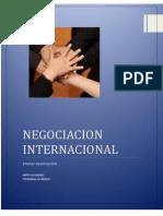 NEGOCIACION INTERNACINAL ETAPAS