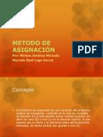 METODO DE ASIGNACIÓN