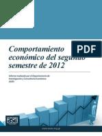 Contexto Economico 2o Semestre 2012 0