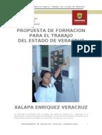 Propuesta de Formacion Para El Trabajo