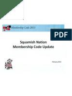 Membership Code 2013 Feb 2013