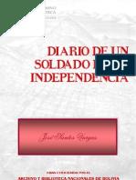 Diario de Un Soldado de La Independencia 1814-1825