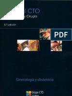 CTO Obstetricia y Ginecologia 8 Ed