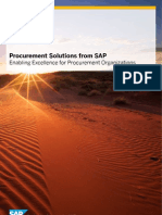 Procurement Solutions From SAP