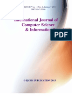 Journal of Computer Science IJCSIS Vol. 11 No. 1 January 2013