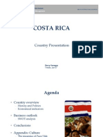 COSTA RICA International Political Economics