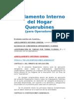 QUERUBINES Reglamento Interno Operadores FLORIDA