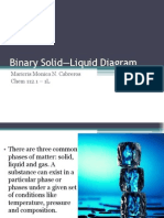 Binary Solid—Liquid Diagram