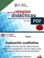 TALLER Evaluacion Cualitativa