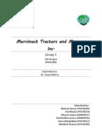 Merrimack Tractors and Mowers