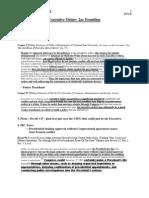 A2 Executive Order CP