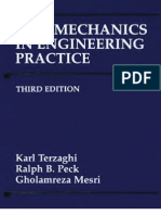 Soil Mechanics in Engineering Practice, 3rd Edition - Karl Terzaghi, Ralph B. Peck, Gholamreza Mesri - 1996