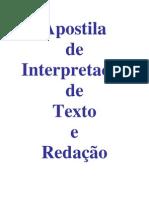 3419751 Lingua Portuguesa Apostila de Interpretacao de Texo e Redacao