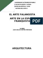 JC Cortés Stefanoni - Arte Falangista