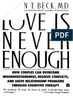eBook - SCAN - Self-Help - Relationships - Therapy for Troubled Marriage - Aaron Beck - Love is Never Enough - 1988