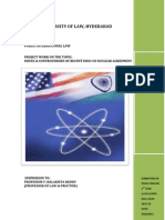 Issues & Controversies of Recent Indo-US Nuclear Agreement (123 Agreement)
