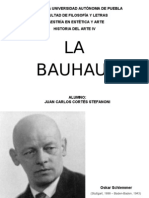 JC Cortés Stefanoni - La Bauhaus parte 2