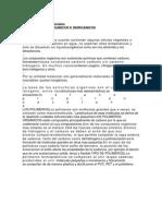 Estructura Materiales Organicos e Inorganicos