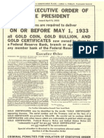 Roosevelt Confiscation Order