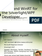 Windows 8 for the XAML Developer Part 1