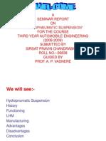 Hydropnumatic Suspension