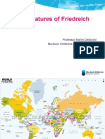 Clinical Features of Friedreich Ataxia