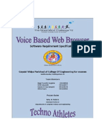 Voice Based Web Browser
