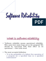 Software Reliability Ppt