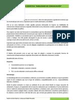 Guía didáctica. Habilidades de comunicación