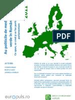 Raport Europuls Au Politicile de Mediu Unda Verde in Romania