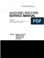 WD-8016F Service Manual (WD(M)-10160(5)F, WD(M)-80160F, WD(M)-65160F, WD-8016F)