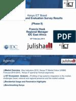 Kenya ICT Market Survey - Julisha II