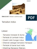 Lokasi Dan Kerangka Masa Tamadun Indus