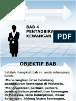 pentadbiran kewangan