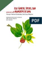 Petunjuk Praktikum Biodiversitas Mangrove