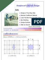 Presentation - RC11 & RC 16_Slab 1 & 2 Way