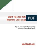 8 Tips for Optimal Machine Vision Lighting